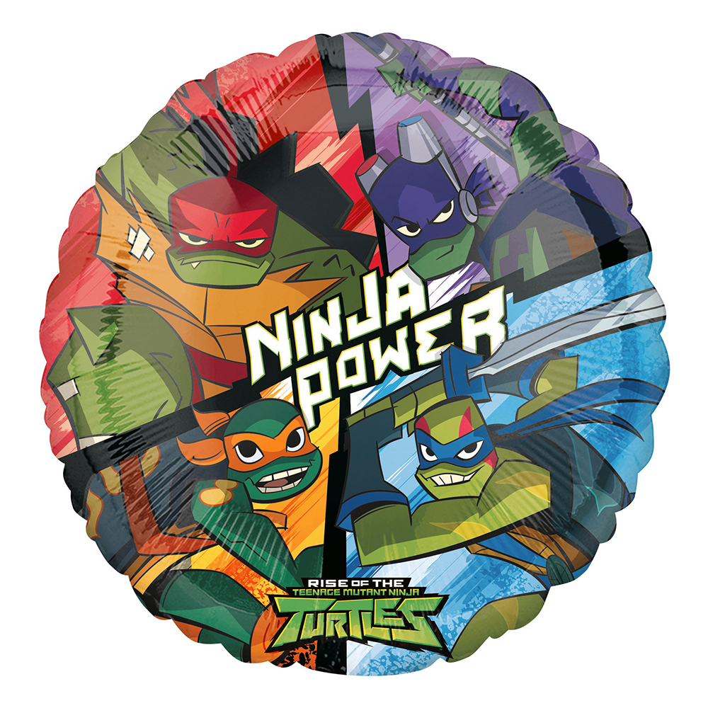 Folieballong Rise of the Ninja Turtles