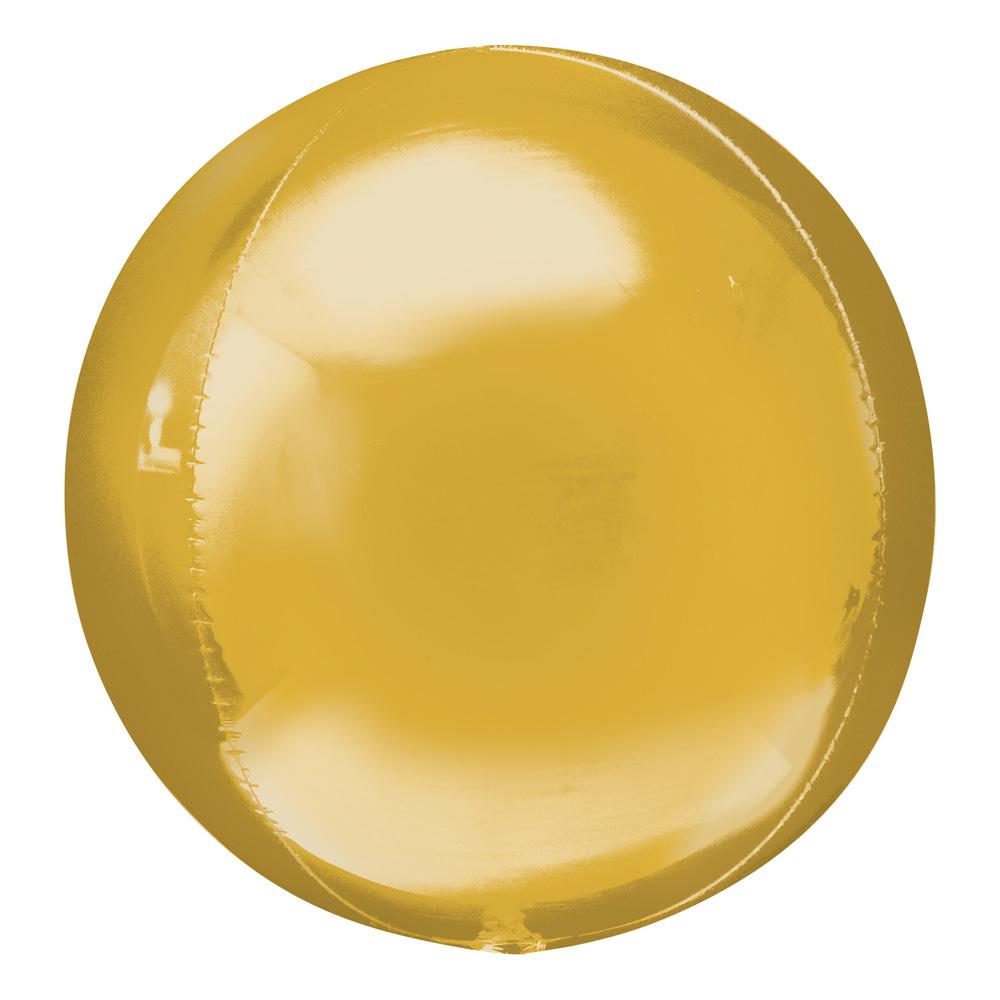 Folieballong Klot Guld
