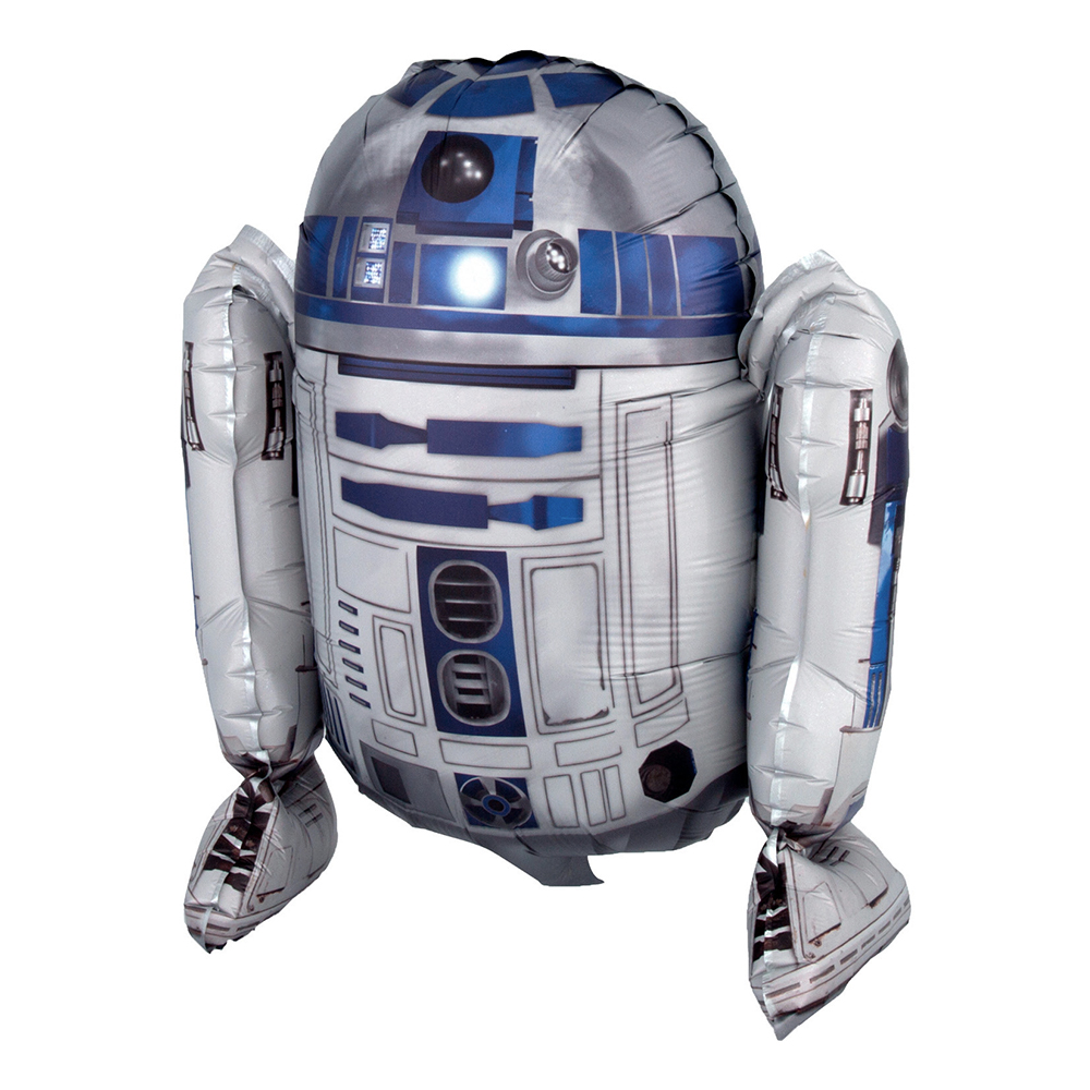 Folieballong Star Wars R2-D2 Sittande