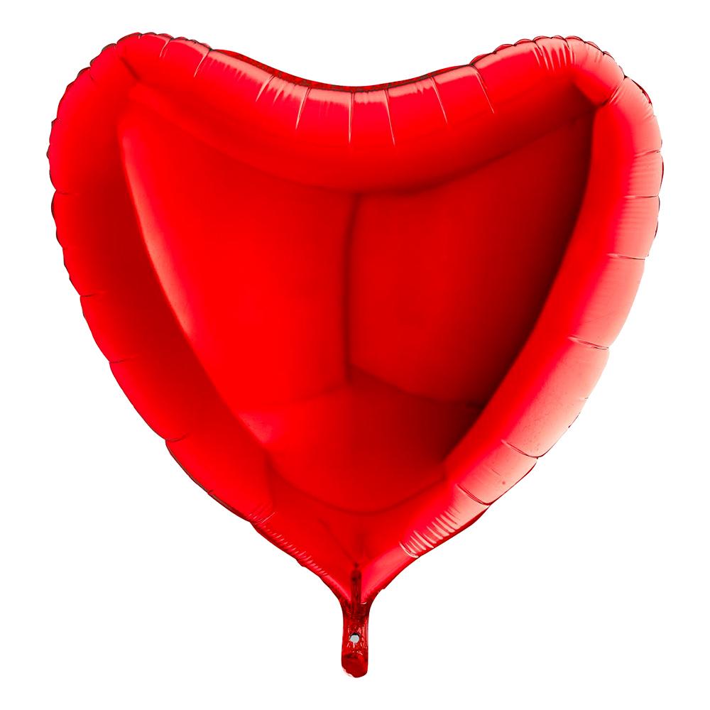Folieballong Stort Hjärta Röd |  | Partyoutlet