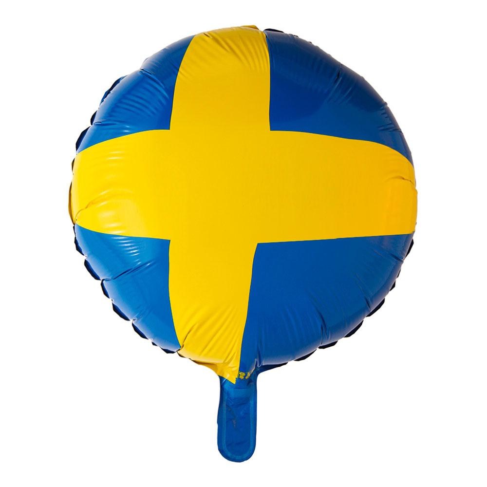 Folieballong Sverige Ballongset