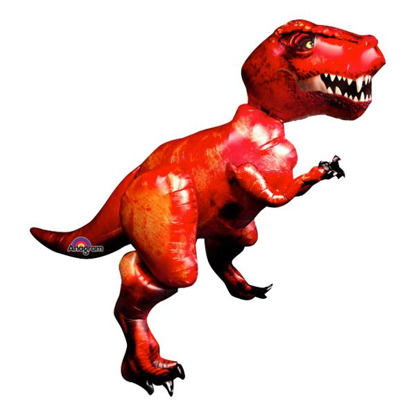 Dinosaurie - Folieballong T-Rex Gigantisk Airwalker