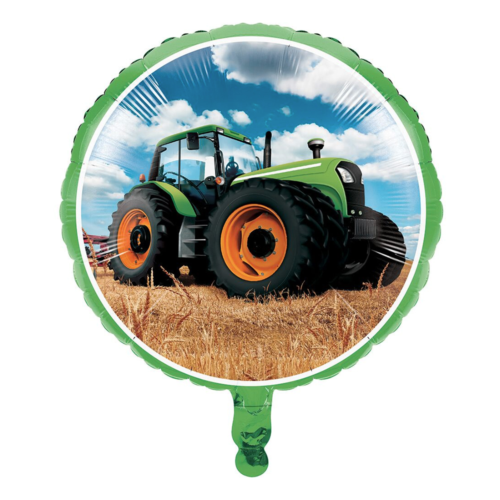 Folieballong Tractor Time - 1-pack