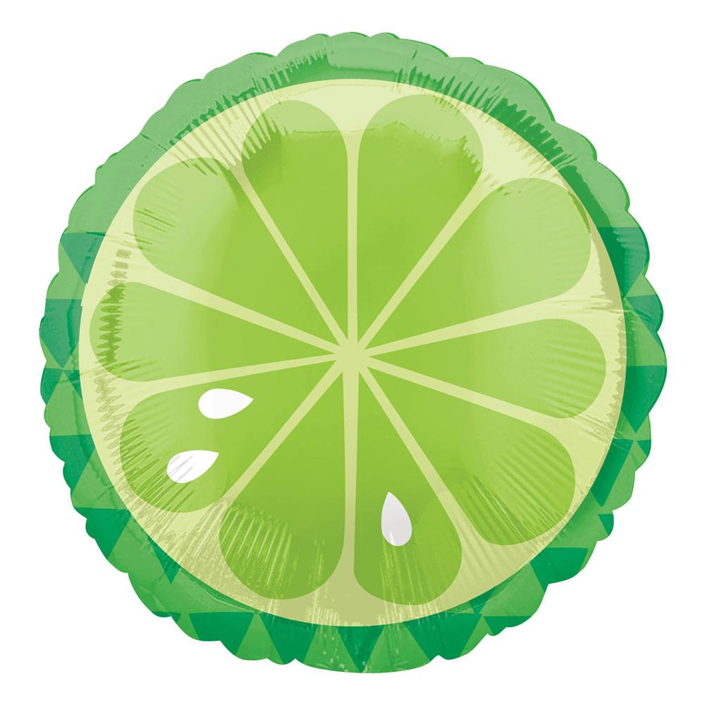 Folieballong Tropisk Lime - 1-pack