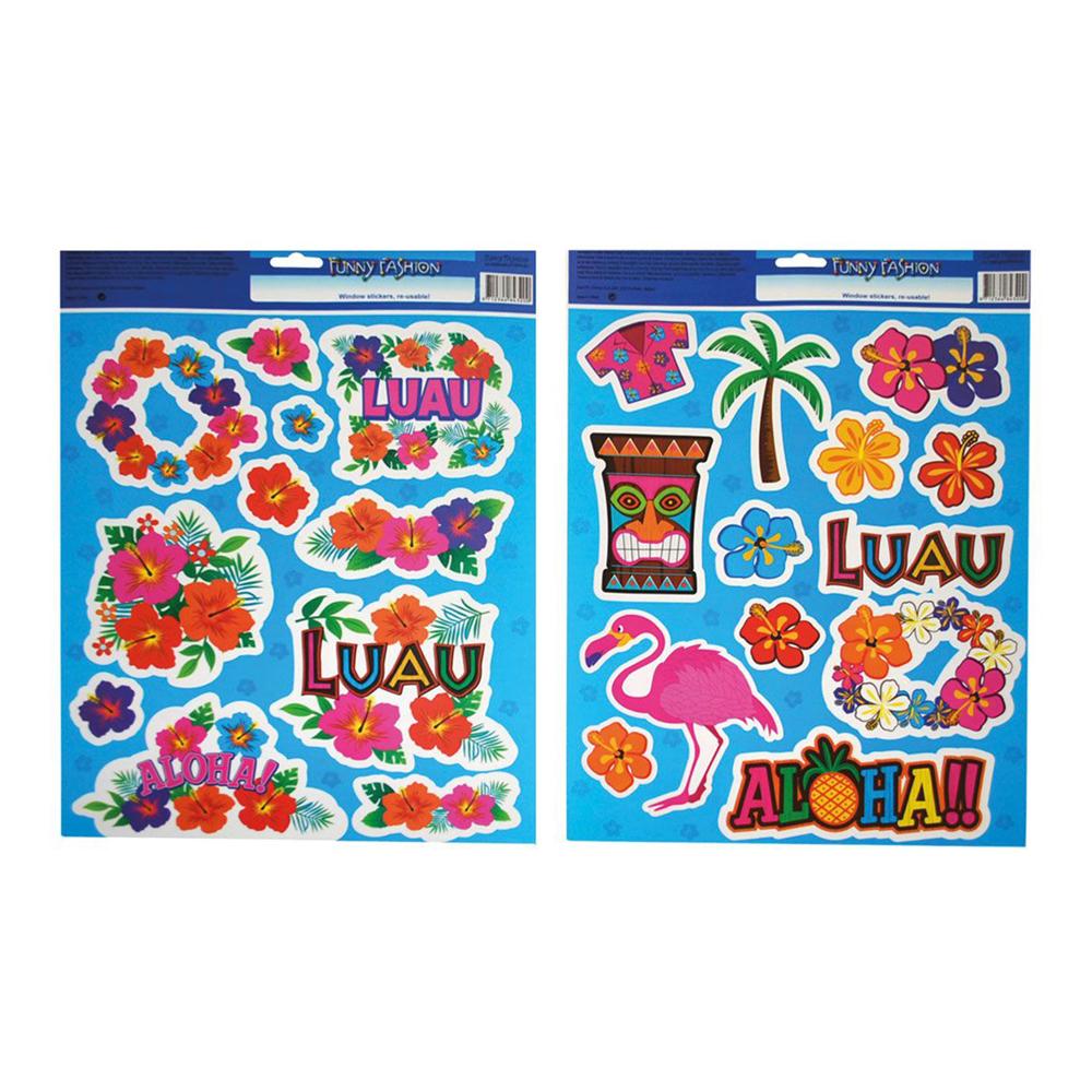 Fönsterstickers Hawaii - 2-pack