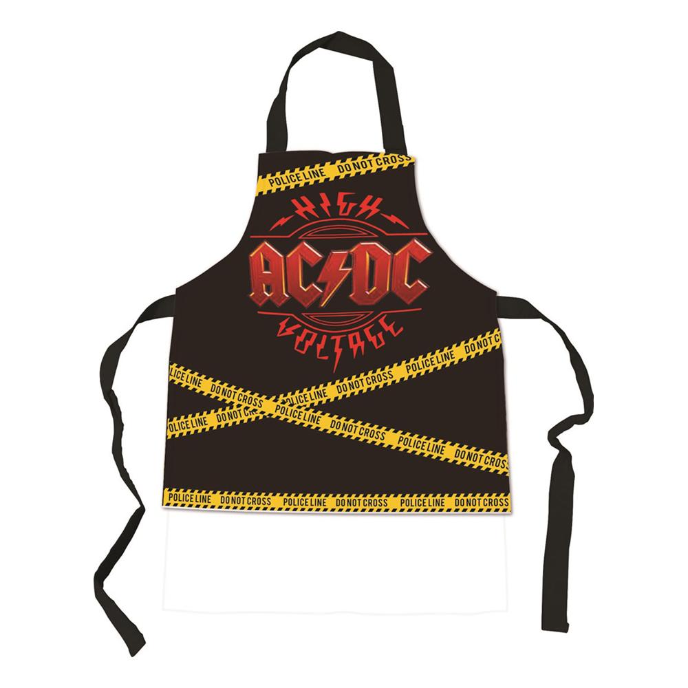 Förkläde AC/DC - One size