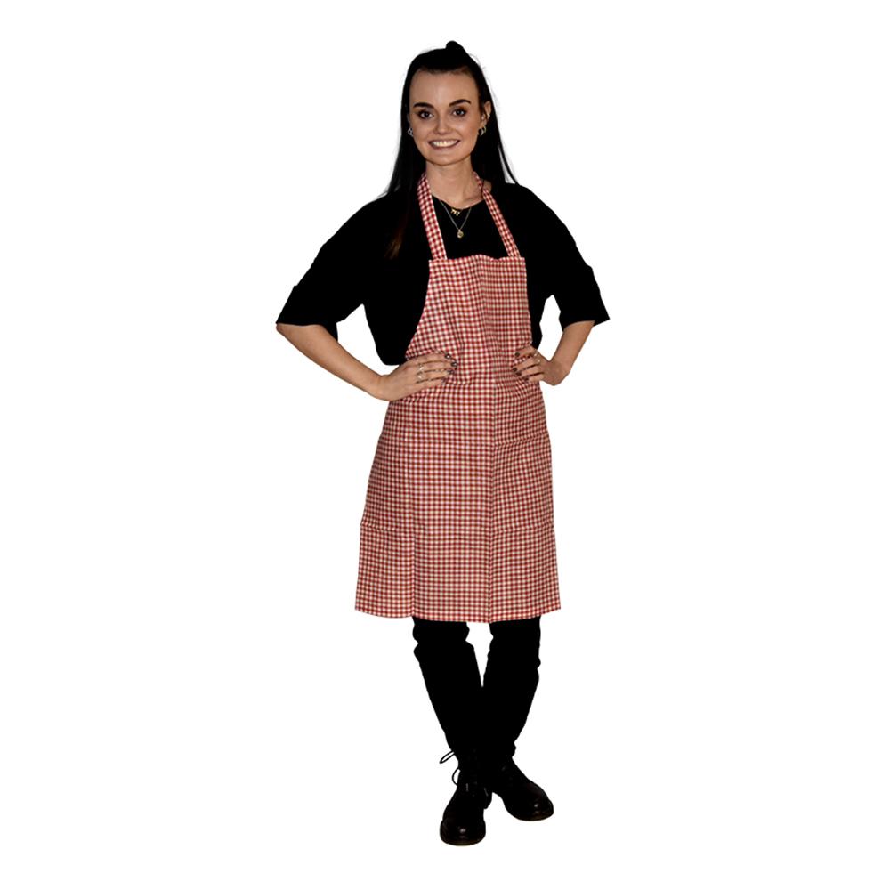 Förkläde Oktoberfest Röd - One size