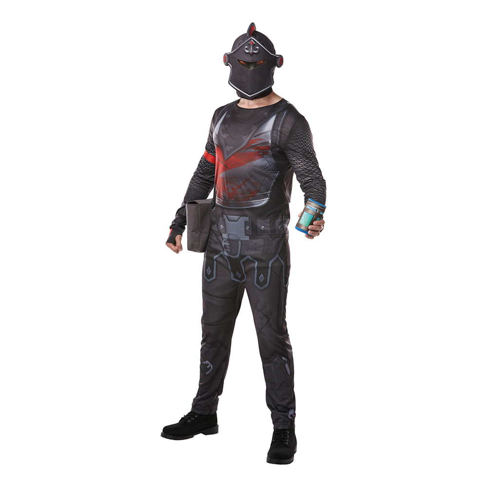 Fortnite Black Knight Maskeraddräkt - Small