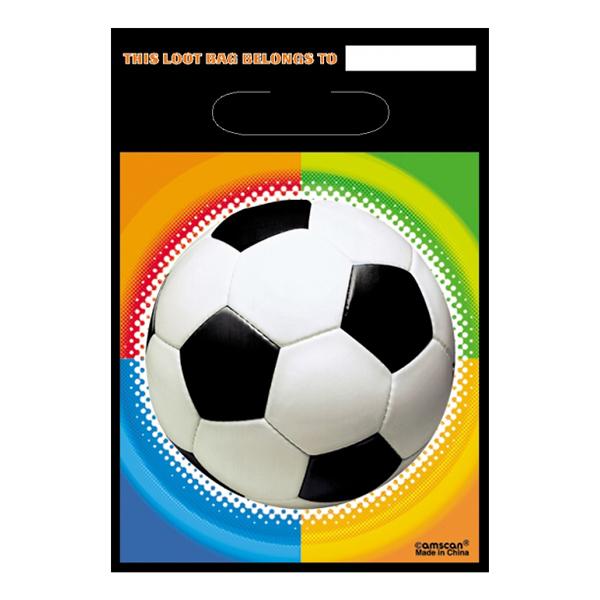 Fotboll Kalaspåsar - 8-pack