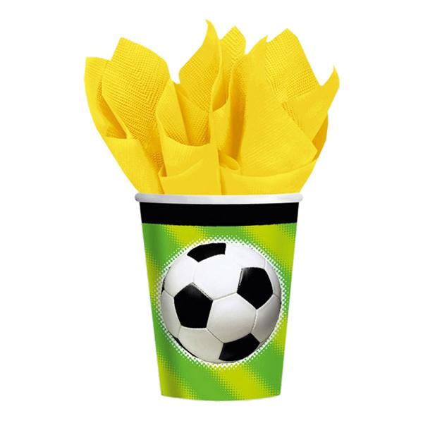 Fotboll Pappersmuggar - 8-pack