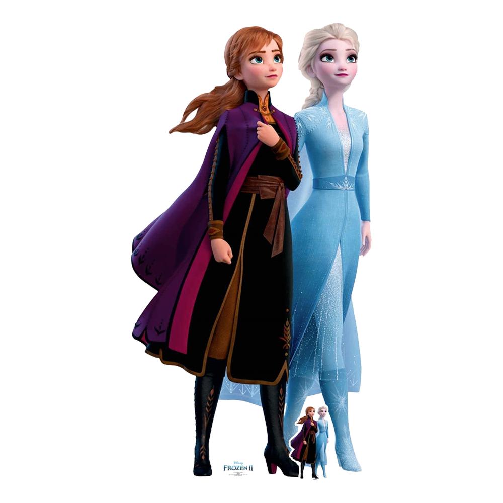Frost/Frozen Anna and Elsa Kartongfigur