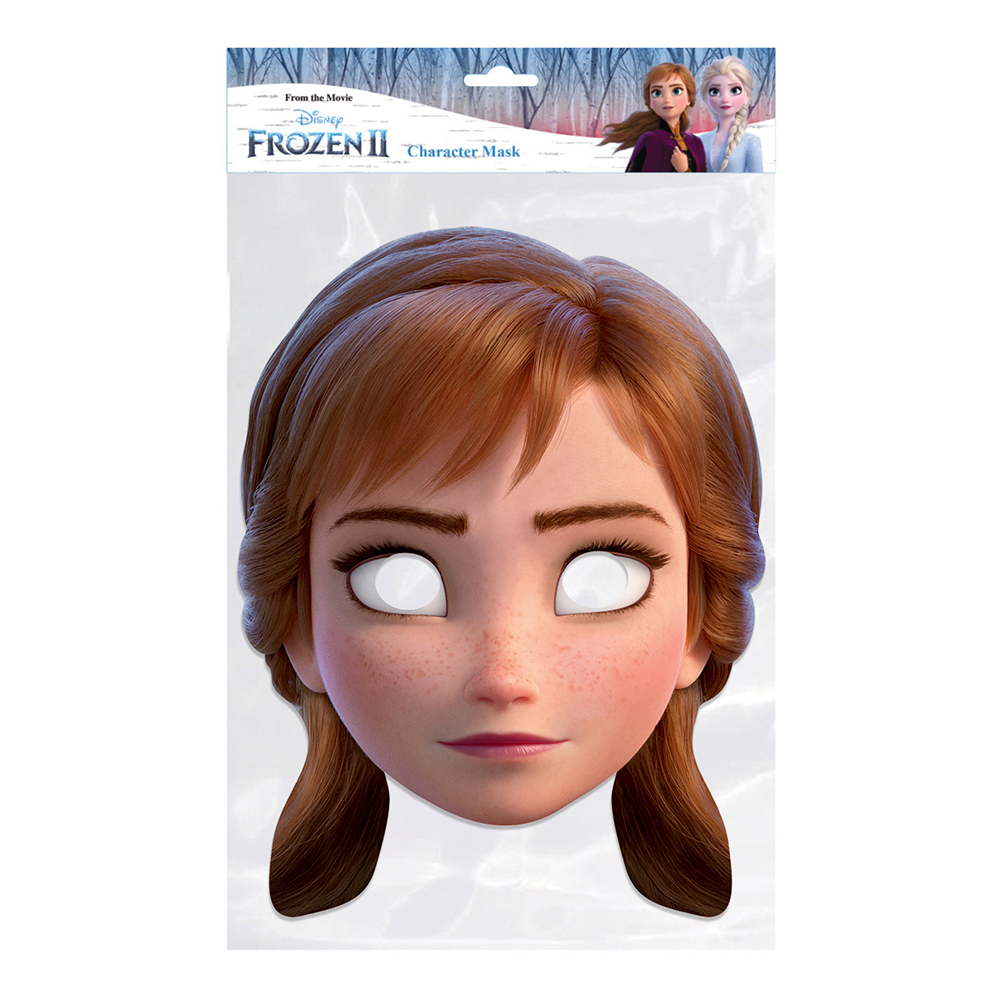 Frozen 2 Anna Pappmask - One size