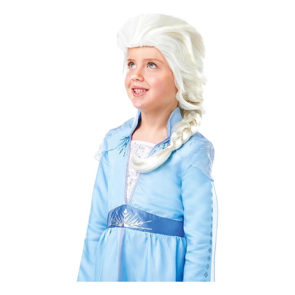 Frozen 2 Elsa Barn Peruk - One size