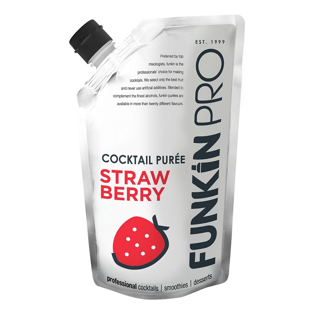 Funkin Strawberry Puré - 1 kg