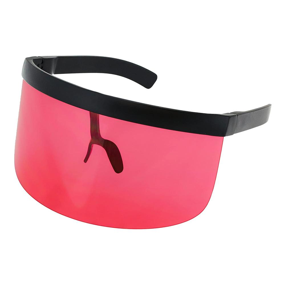 Futuristiska Glasögon - Röd