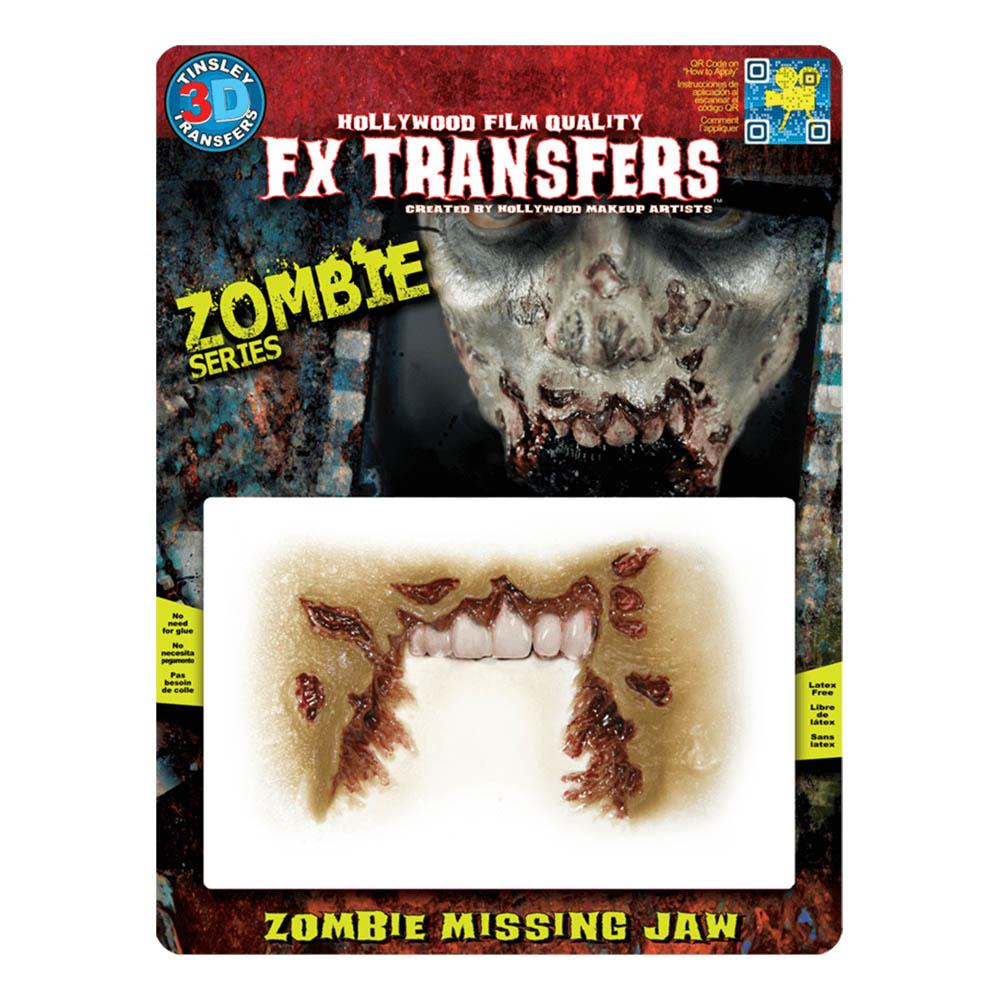 FX Transfer Zombie Missing Jaw