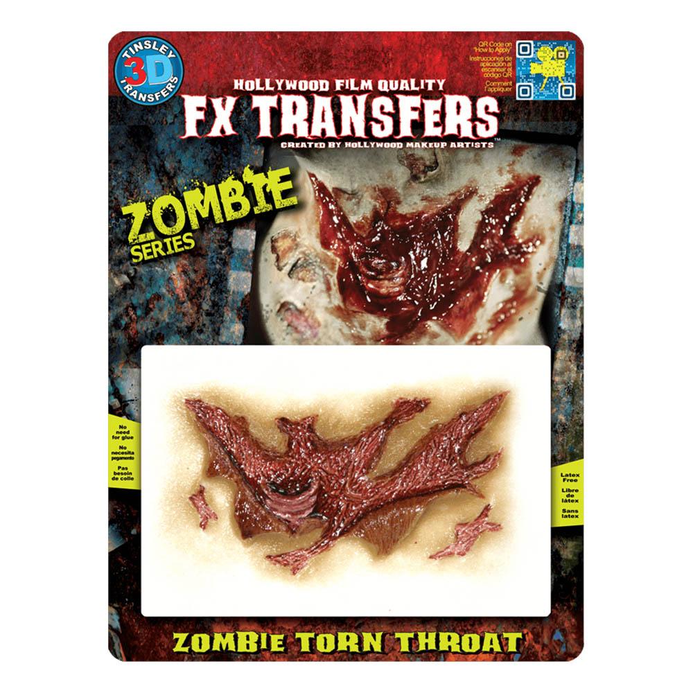 FX Transfer Zombie Torn Throat