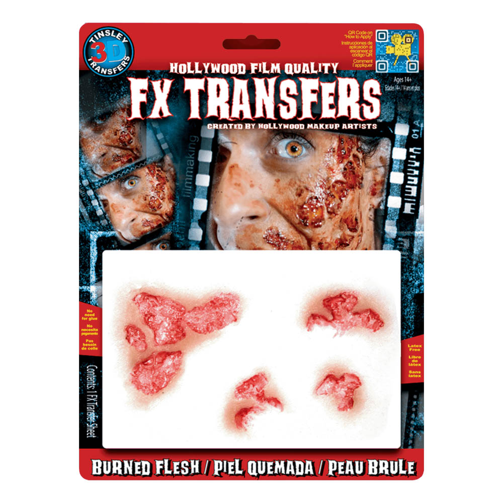 FX Transfers Burned Flesh 3D