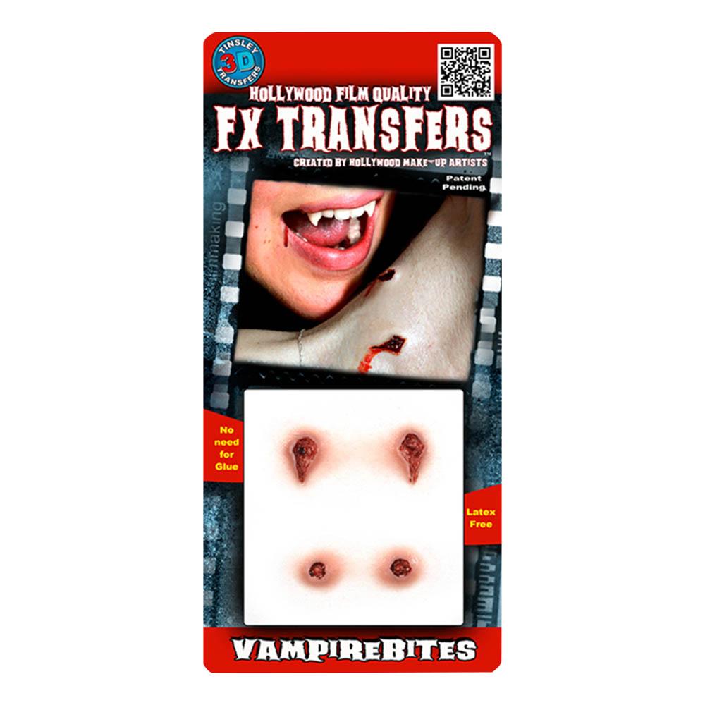 FX Transfers Vampire Bites 3D | Hem//Maskerad//Smink//Specialeffekter | Partyoutlet