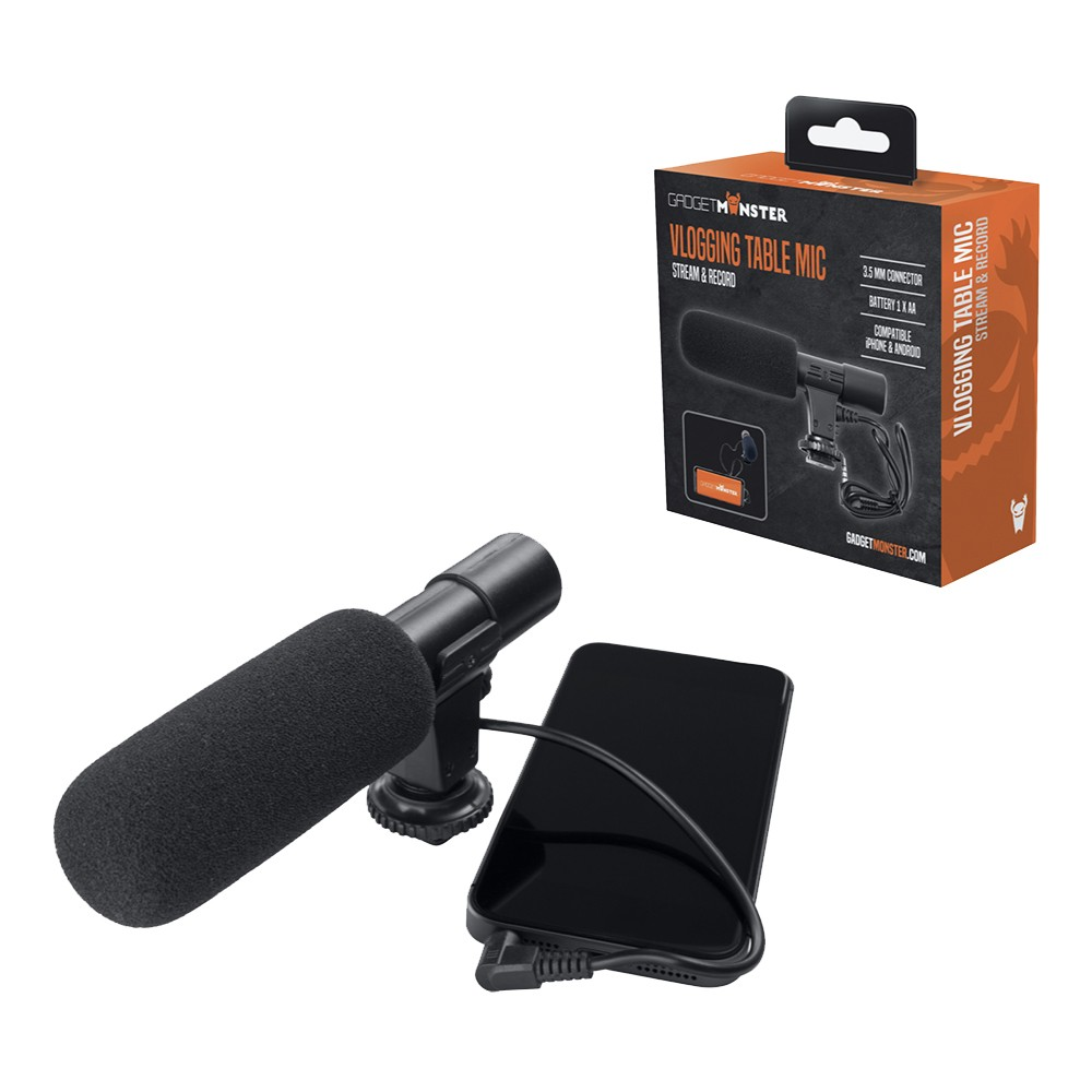 GadgetMonster Vlogging Mikrofon