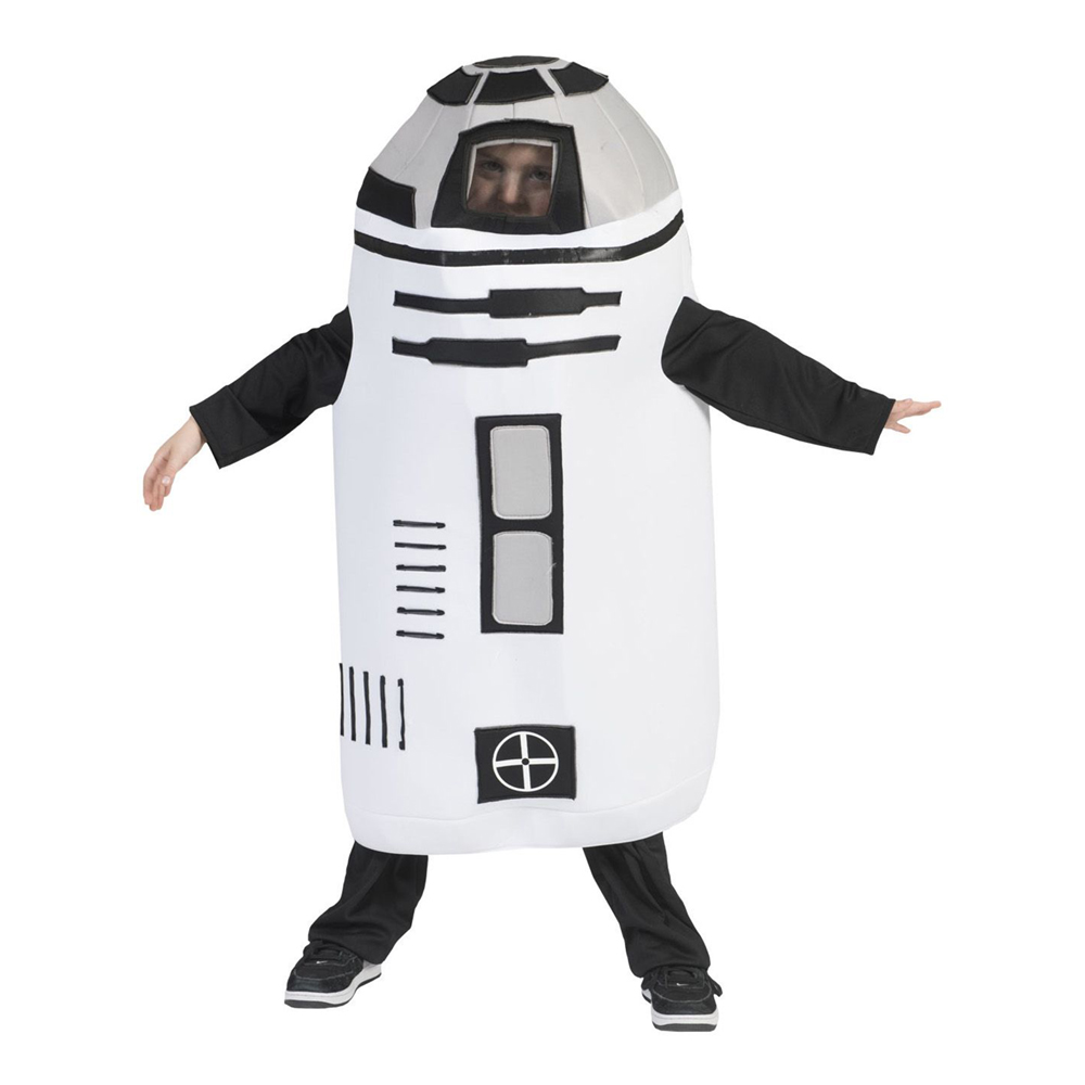 Galaktisk Robot Barn Maskeraddräkt - One size