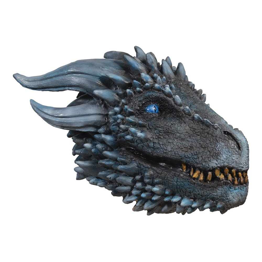 Game of Thrones White Walker Dragon Mask - One size