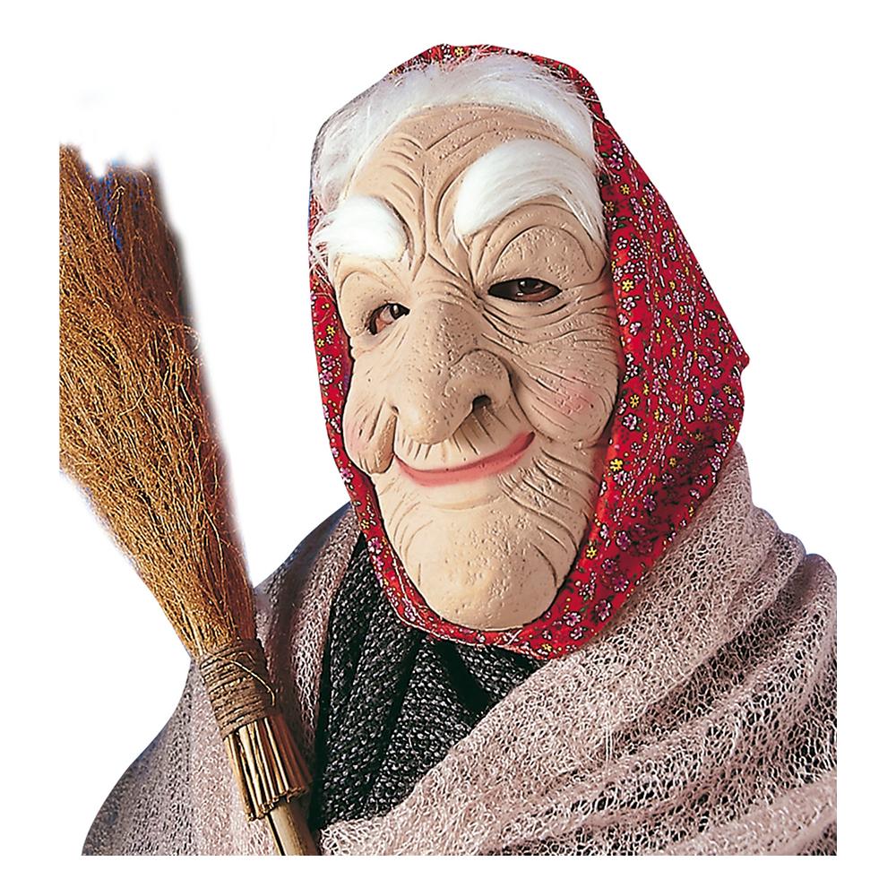 Gammal Häxa Mask - One size