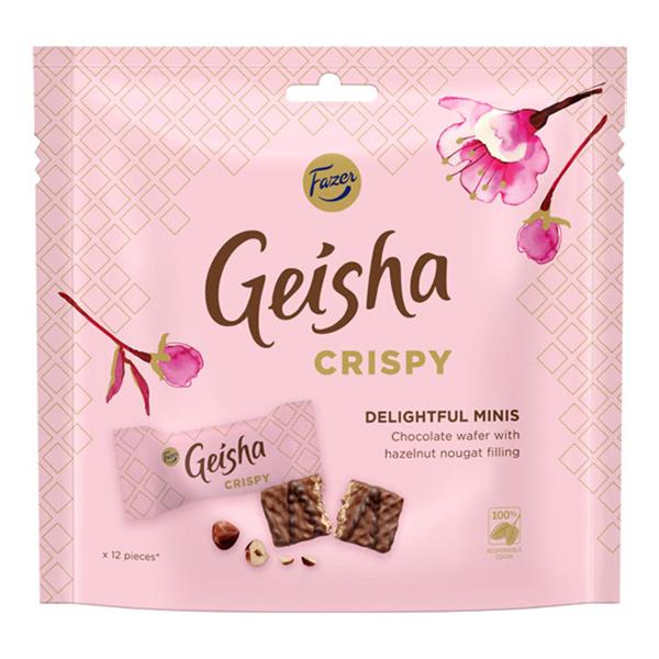 Geisha Crispy Minis - 120 gram