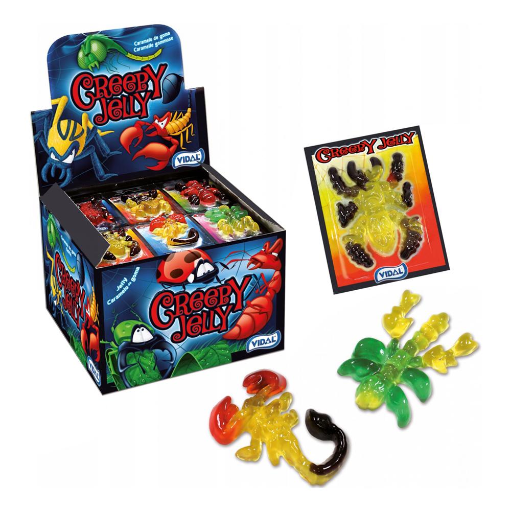 Gelégodis Insekter - 6-pack