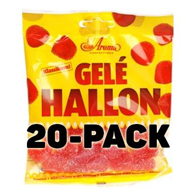 Geléhallon - 20-pack (Hel kartong)