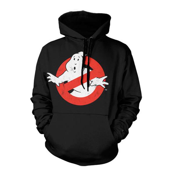 Ghostbusters Logo Hoodie - Large