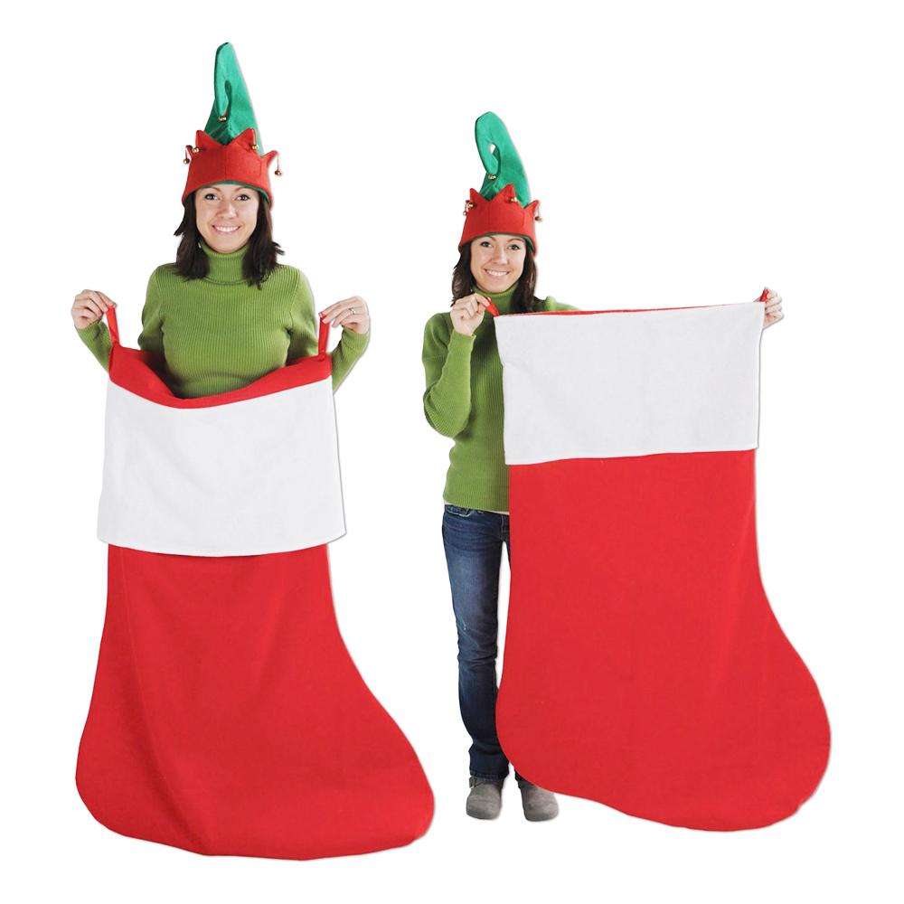 Gigantisk Julstrumpa