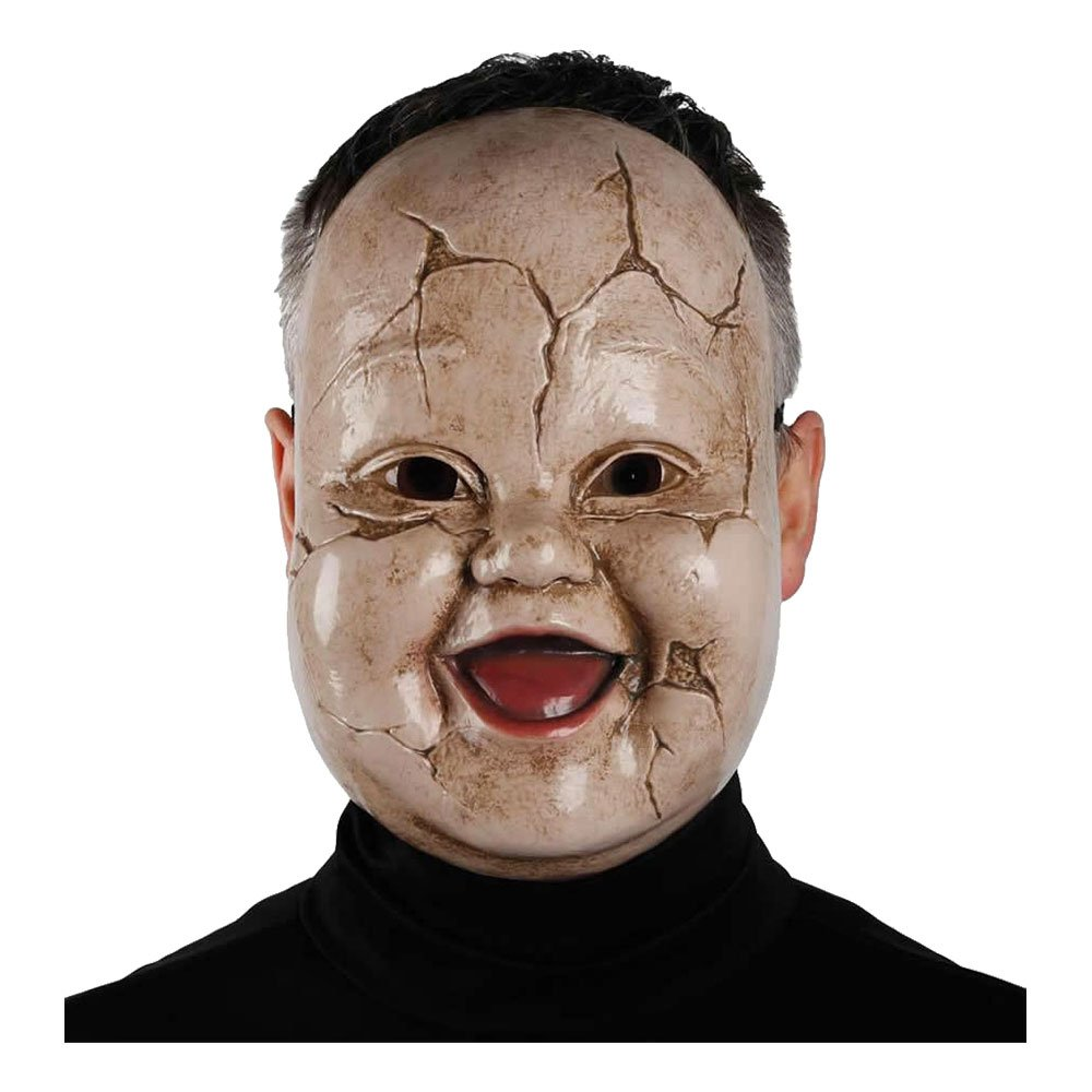 Giggles Dreadful Doll Mask - One size