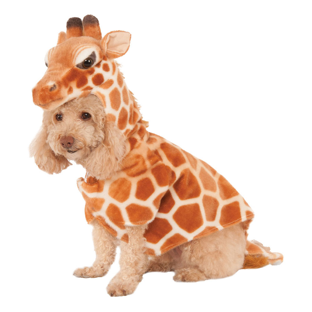 Giraff Hund Maskeraddräkt - X-Small