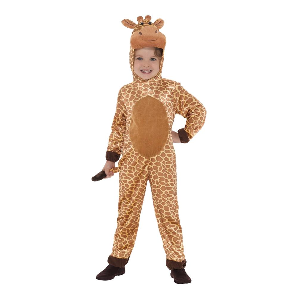 Giraff Jumpsuit Barn Maskeraddräkt - Large