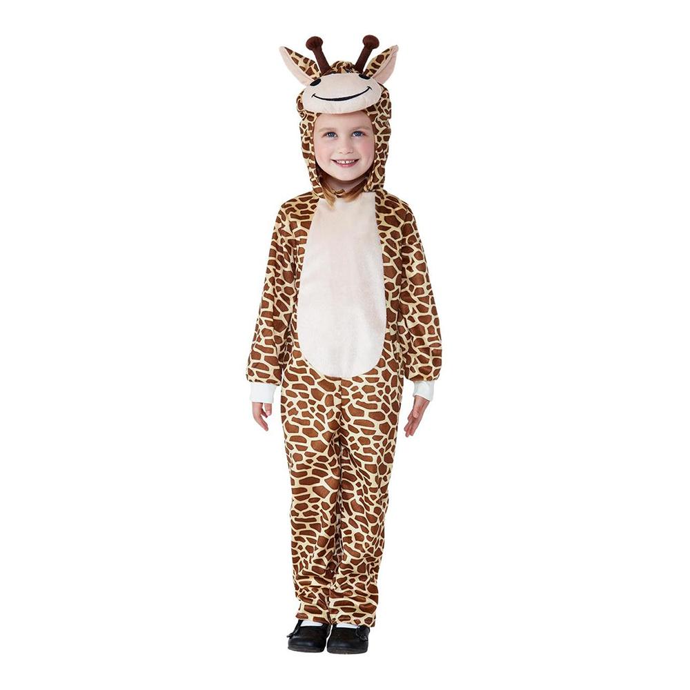 Giraff Toddler Maskeraddräkt - 1-2 år