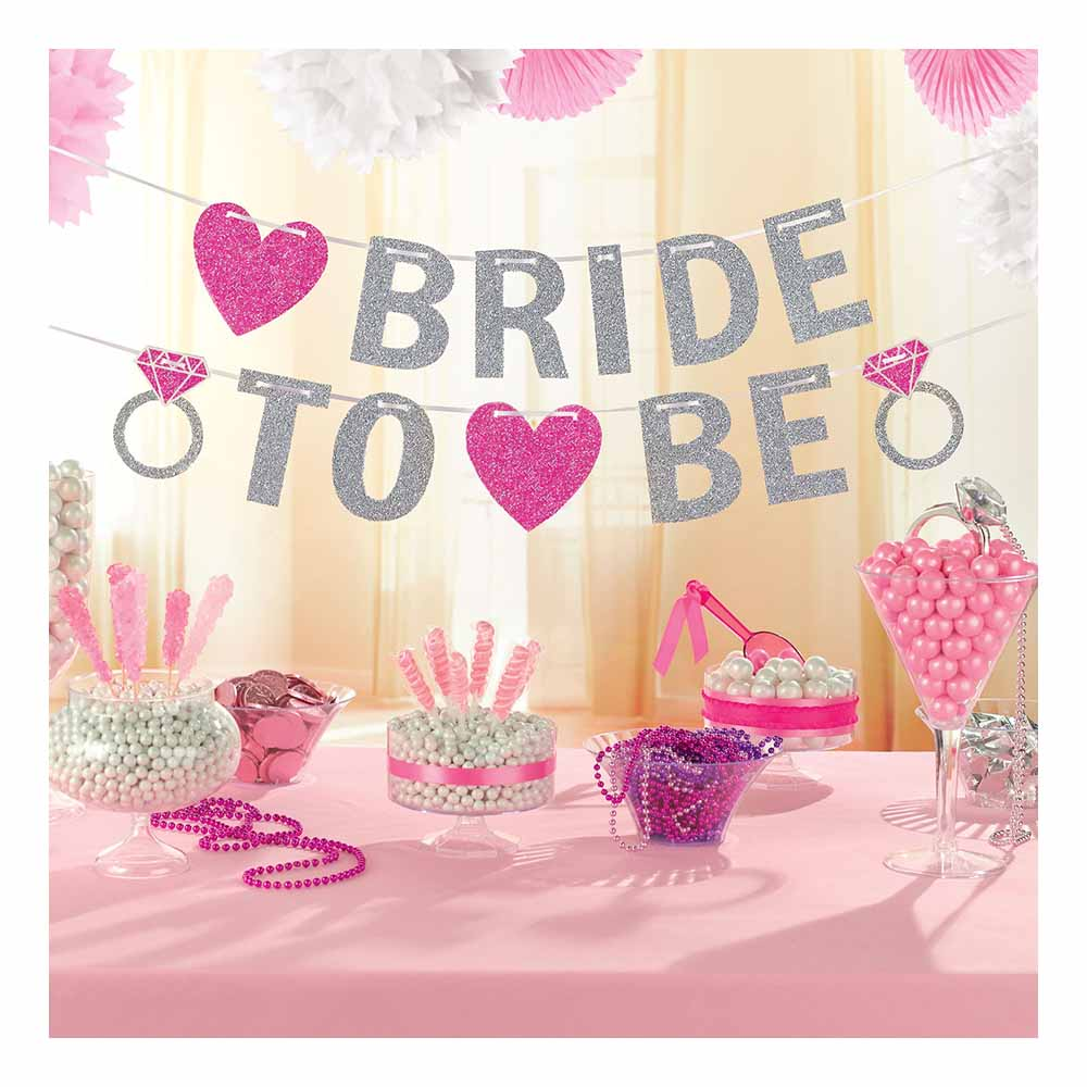 Girlang Bride to Be Glitter