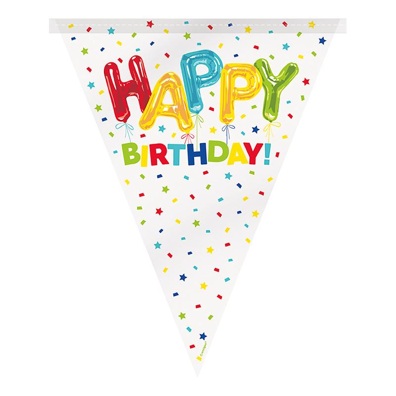 Girlang Happy Birthday Konfetti - 1 pack