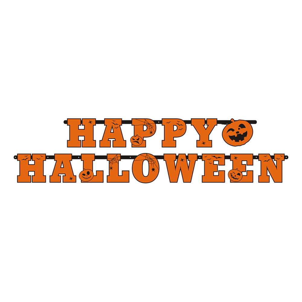 Girlang Happy Halloween Orange