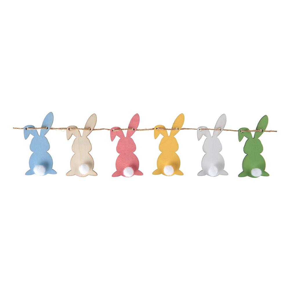 Kanin-produkter - Girlang Kaniner Flerfärgade