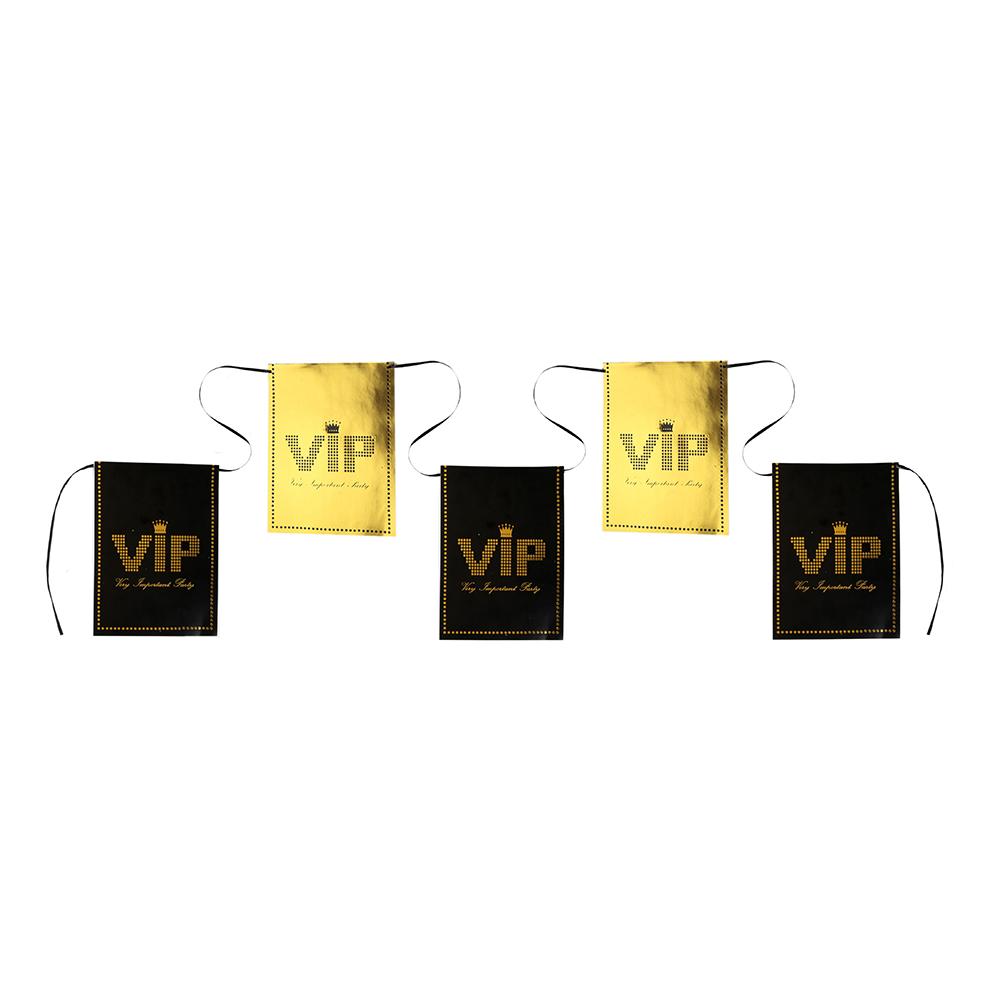 Girlang VIP Svart/Guld