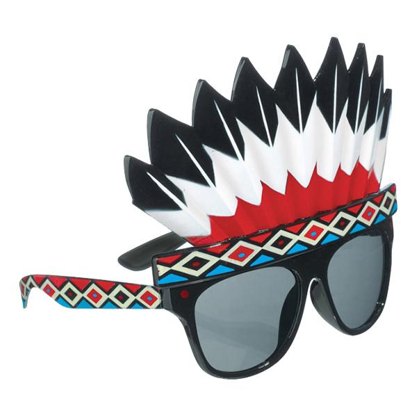 Glasögon med Indianskrud