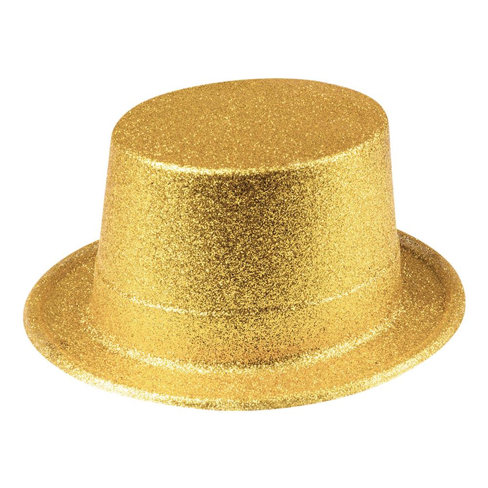 Glitterhatt Guld - One size