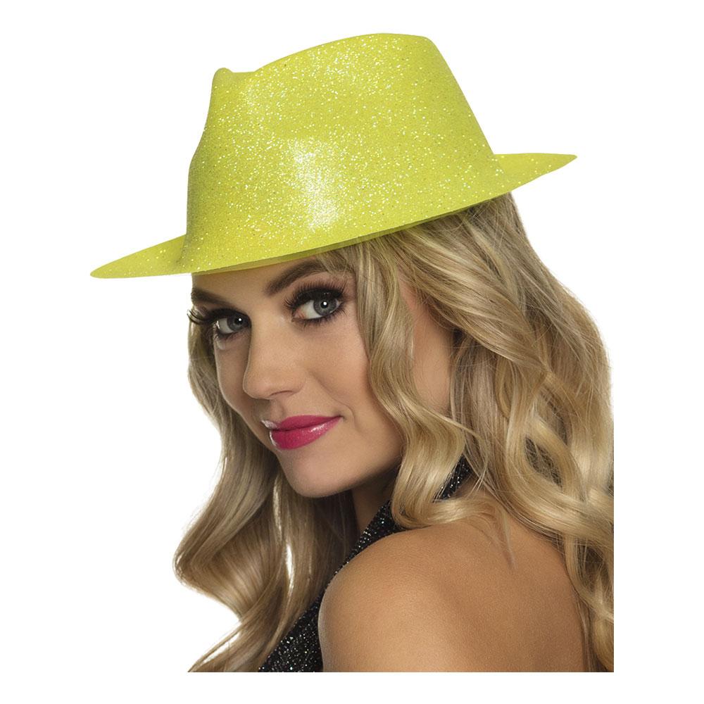 Gnistrande Neongul Hatt - One size