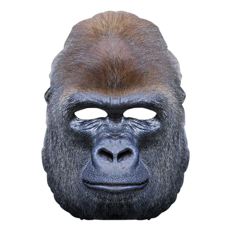 Gorilla - Gorilla Pappmask