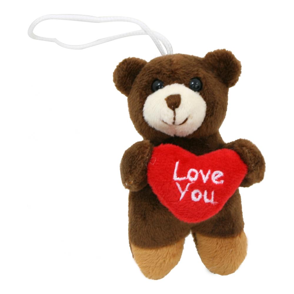 Gosedjur Nalle I Love You - 10 cm