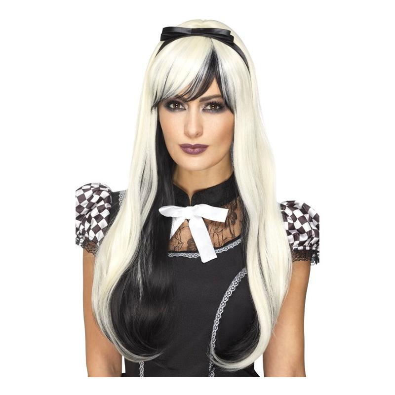 Gotisk Alice Deluxe Peruk