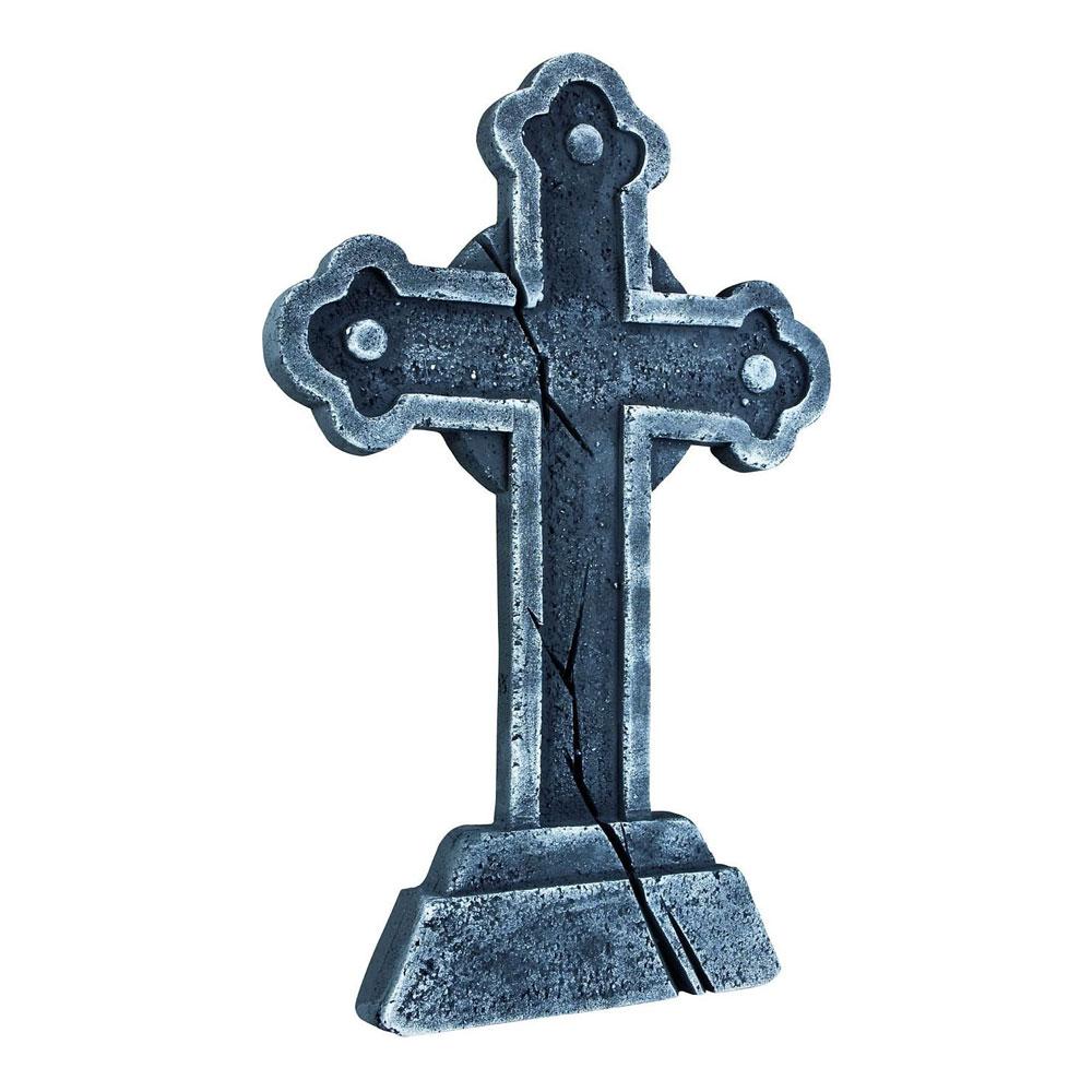 Gravsten med Kors
