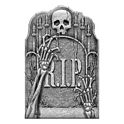 Gravsten med Skelettarmar