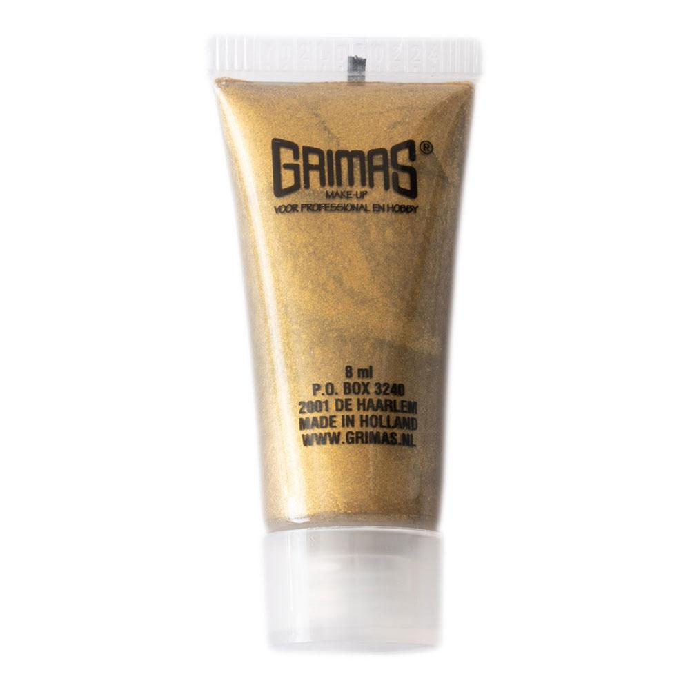 Grimas Ansikts- & Kroppsfärg Metallic - Guld